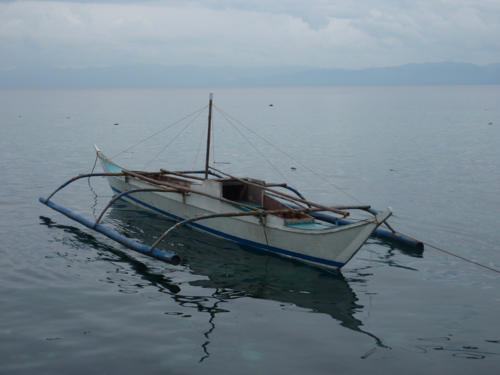 boat on anchor