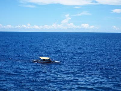 Blue waters and blue skies!