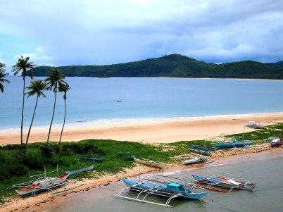 Nacpan and Calitang Beach