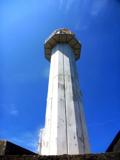 The lighthouse powered by solar energy. It could have been another breathtaking view on the top!