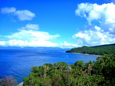 The breathtaking view from Punta Apunan lighthouse!